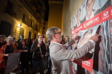 pancarta electoral